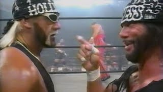Hollywood Hogan vs. Macho Man Randy Savage - nWo Mega Powers EXPLODE!