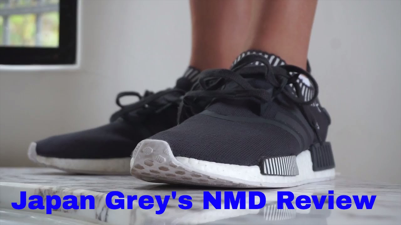 89dfd85e26318 Japan Grey NMD Review - YouTube