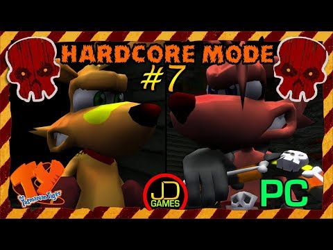 Ty The Tasmanian Tiger [PC] | Hardcore Mode | # 7 | Ty VS. Sly! Who Will Win?