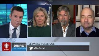 Le panel politique du 3 décembre 2020
