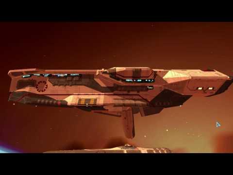 Homeworld 2: Destroyer Defense Field Module - Subsystem animation -R.E.A.R.M. mod