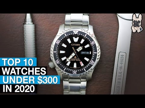 10 Great Watches Under $300 (in 2020)