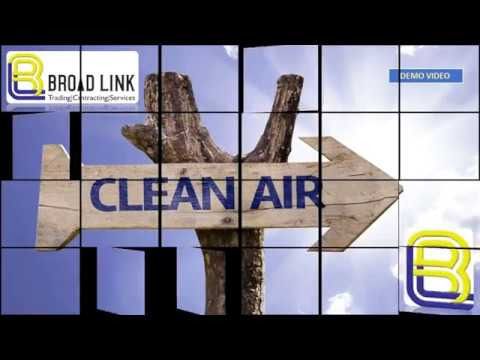 HVAC DUCT CLEANING DEMO BROAD LINK ROBO CLEAN