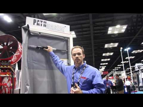 Tempest Technology PathMaster Smoke Curtain at FDIC 2015