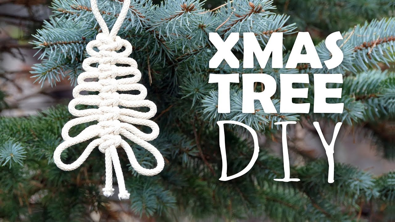 Knotted Xmas Tree Easy Tutorial By Macrame School