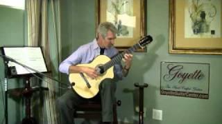 Estudio 12, Op. 6, No. 6, by Fernando Sor, Classical Guitar