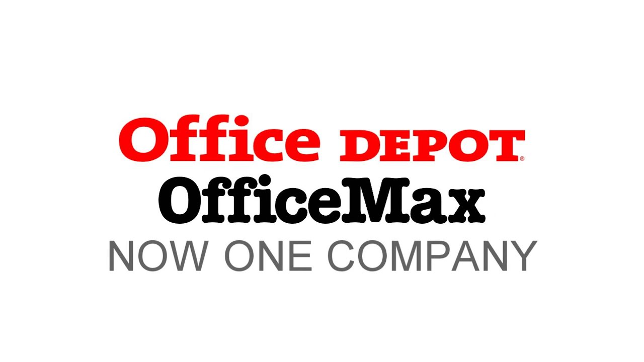 Office Depot OfficeMax Ident 2015 - YouTube