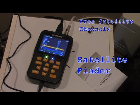 SatHero 400HD DVB-S2 Satellite Finder Unboxing and Review
