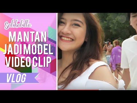 SALSHABILLA #VLOG - MANTAN JADI MODEL VIDEO CLIP (LOMBOK PART 3)