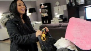 Shopping For The House! - January 09, 2013 - Itsjudyslife Vlog