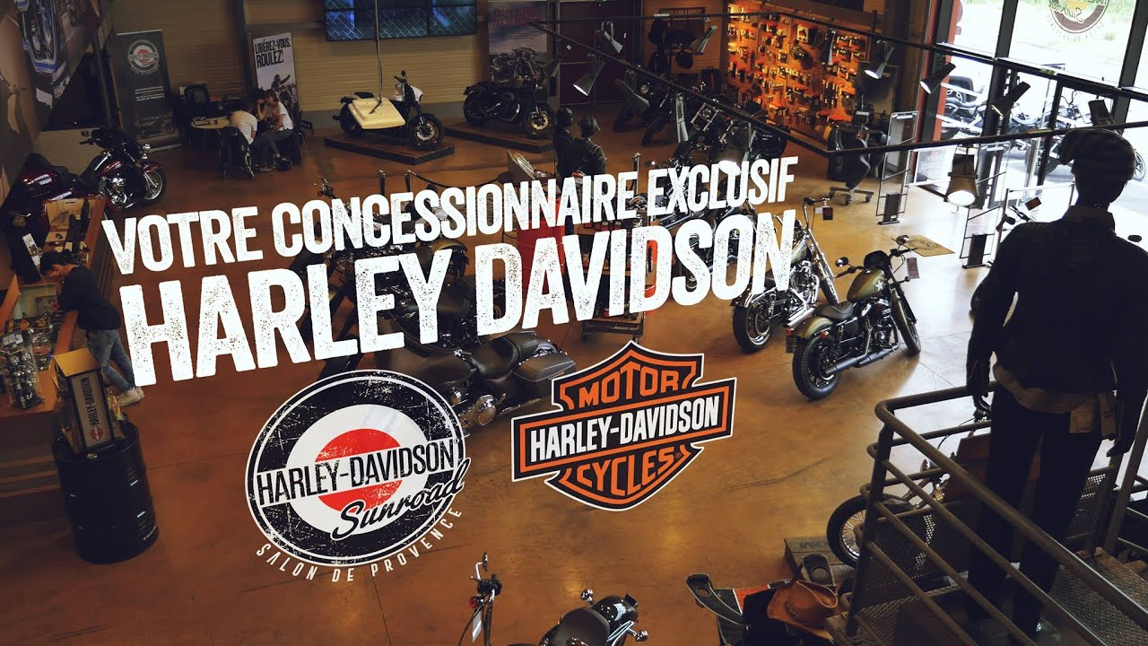 Harley davidson sunroad concessionnaire exclusif salon for Concessionnaire salon de provence
