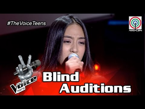 The Voice Teens Philippines Blind Audition: Fatima Lagueras - Runaway Baby