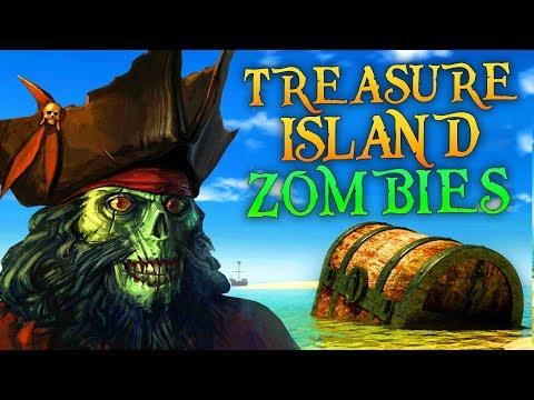 TREASURE ISLAND ZOMBIES (Call of Duty Zombies)