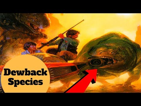 The Surprisingly DANGEROUS Dewback - Dewback Species & History Explained - Star Wars Creatures Lore