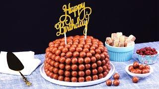 """Нежный Шоколадный Торт """"Пузырьки"""": Простой И Красивый Рецепт К Празднику!"""