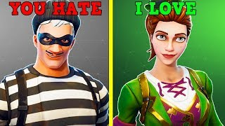 Skins Everyone Hates, But I Love! (Fortnite Battle Royale!)