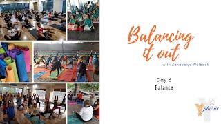 Balancing it out - Day 6 - Balance