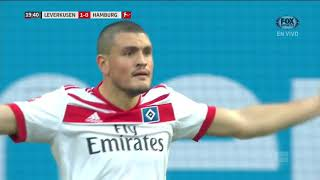 GOL: Bayer Leverkusen 1 - 0 Hamburger SV