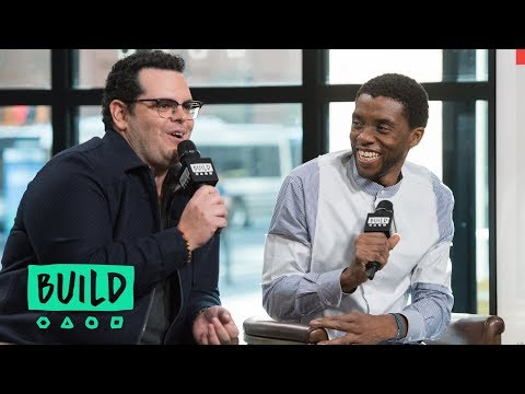 "Chadwick Boseman & Josh Gad Discuss ""Marshall"""