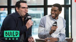 "Chadwick Boseman & Josh Gad Discuss ""Marshall"""