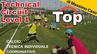 Allenamento Calcio Tecnica Individuale Coordinativa