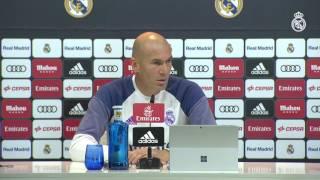Zidane NO piensa en el resultado del Clásico