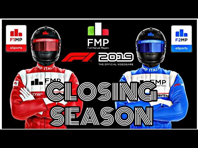 F1MP - F2MP Drivers and Team CLOSING SEASON