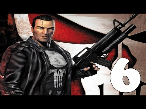 "The Punisher "" Videojuego "" Mission 6 ( La Finca De Gnucci ) Dificultad: Alta"