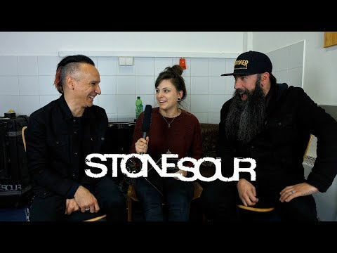 """INTERVIEW   12 questions with """"STONE SOUR"""""""