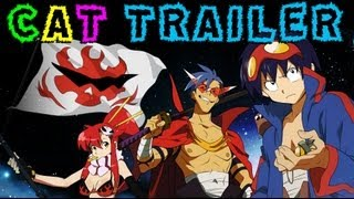 Gurren Lagann Cinematic Trailer!