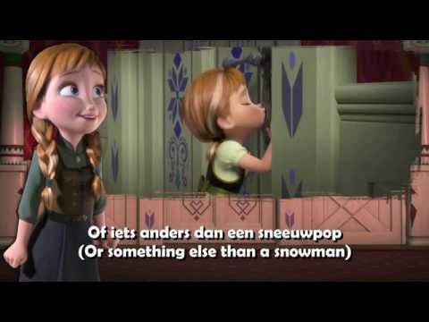 Frozen - Do You Want To Build A Snowman [Dutch] Subs+trans