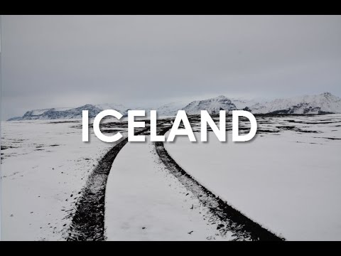 TRIP TO ICELAND IN WINTER - NORTHERN LIGHTS, VOLCANOES, AND GLACIERS - VLOG