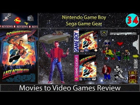 Movies to Video Games Review -- Last Action Hero (Game Boy & Game Gear)
