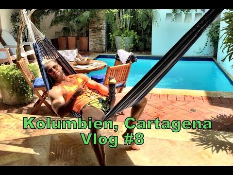 Erster Tag in Kolumbien, Cartagena Vlog #8