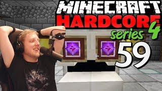 "Minecraft Hardcore - S4E59 - ""Building the ENDER KINGS KEEP"" • Highlights"