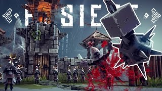Besiege Best Creations - Roller Coaster, Wrecking Ball, Big Daddy! - Besiege Gameplay