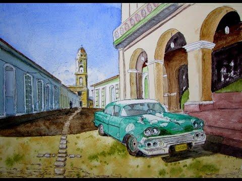 My Sketch style in Cuba 2015