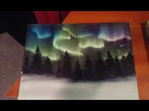 Painting The Northern Lights (The Salem Painter Ep 03) Awesome Ideas