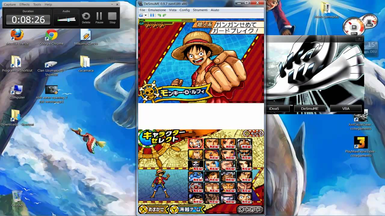 one piece gigant battle ita nds