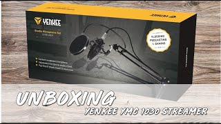 🔥 YENKEE YMC 1030 STREAMER- Unboxing+Test CZ 👆