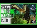 ARK PS4 ADMIN CODES TUTORIAL - How To Spawn In The Hazard Suit / Hazmat Suit From Aberration