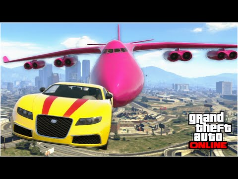 Thumbnail: AWESOME GTA 5 STUNTS & FAILS (Funny Moments Compilation)