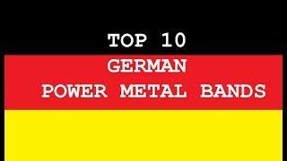 Top 10 German Power Metal Bands