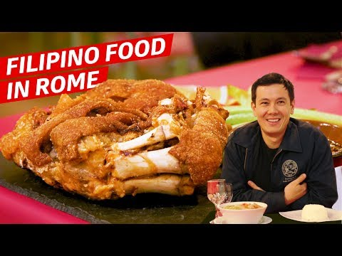 The Amazing Filipino Restaurant Right Near The Vatican — Dining on a Dime