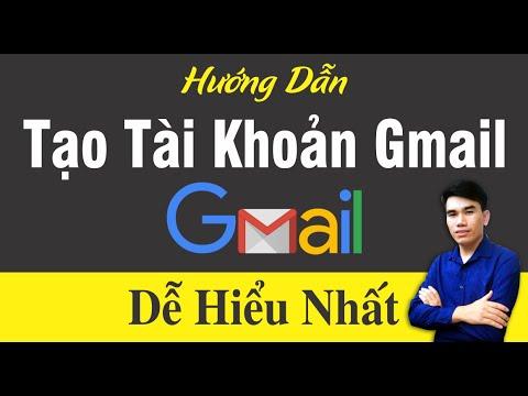 Tạo Website Miễn Phí Google Site 01:  Tạo Tài Khoản Gmail từ A-Z mới nhất 2020