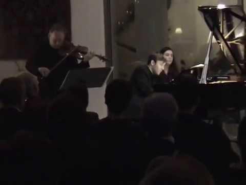 Ravel Sonata for Violin and Piano