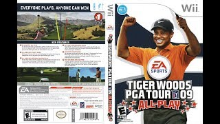 Tiger Woods PGA Tour 09 (Wii)