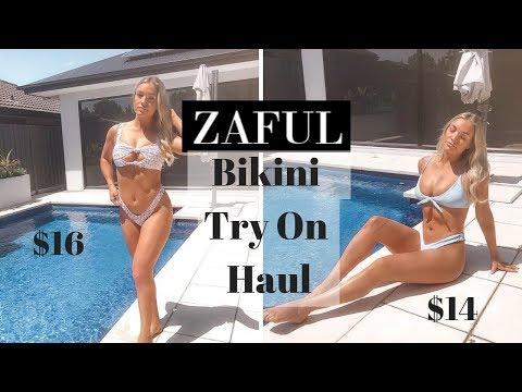 Bikini Try On Haul - Zaful   ASHTON LANGFORD