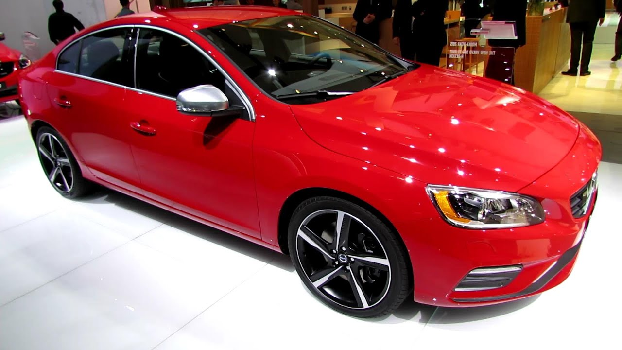 2015 volvo s60 t6 awd r design exterior and interior walkaround 2014 detroit auto show youtube. Black Bedroom Furniture Sets. Home Design Ideas