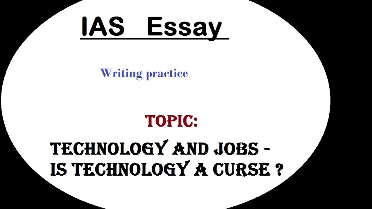 writing essays about technology Science and technology essay for class 3 here we have provided some simple science and technology essay to help students to do better in their essay writing.